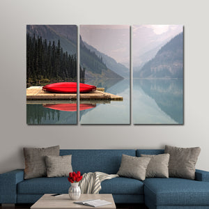 Kayak Adventure Multi Panel Canvas Wall Art - Kayak