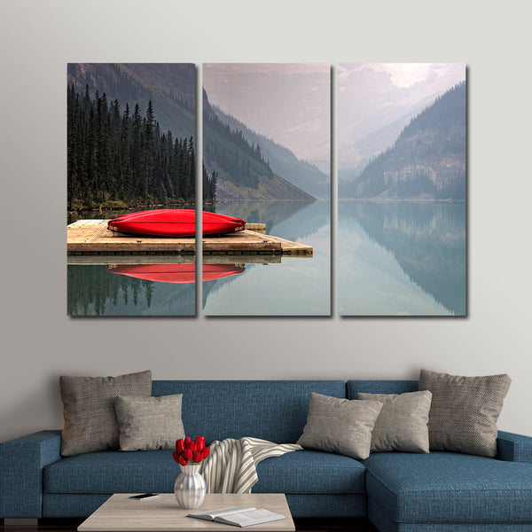 Kayak Adventure Multi Panel Canvas Wall Art