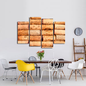 Corks Wall Multi Panel Canvas Wall Art