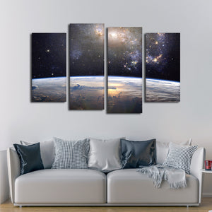 Cosmic Beauty Multi Panel Canvas Wall Art - Astronomy