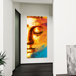 Cosmic Buddha Multi Panel Canvas Wall Art - Buddhism