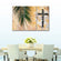 Cross Palm Multi Panel Canvas Wall Art