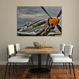 P51 Mustang Multi Panel Canvas Wall Art