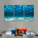 Underwater Multi Panel Canvas Wall Art