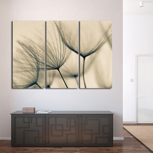 Dandelion Flower Multi Panel Canvas Wall Art - Flower