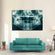 Dental X Ray Multi Panel Canvas Wall Art