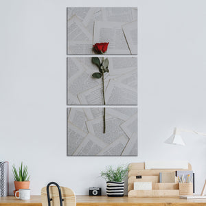Finding Love Multi Panel Canvas Wall Art - Relationship
