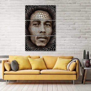 Digital Bob Marley Multi Panel Canvas Wall Art - Music