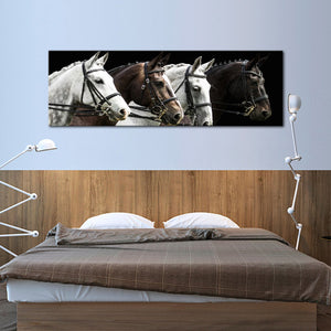 Dressage Competition Multi Panel Canvas Wall Art - Horse