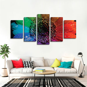 Earth Flower Multi Panel Canvas Wall Art - Flower