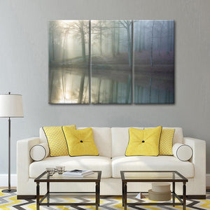 Echo Multi Panel Canvas Wall Art - Nature