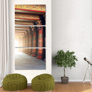 Egyptian Mythology Multi Panel Canvas Wall Art - Africa