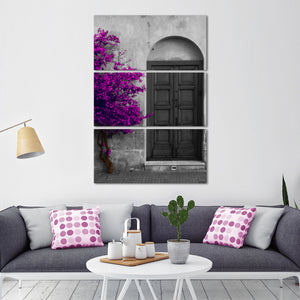 Elegant Entry Tree Multi Panel Canvas Wall Art - Village