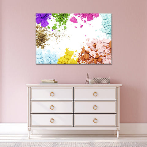 Shimmer Multi Panel Canvas Wall Art