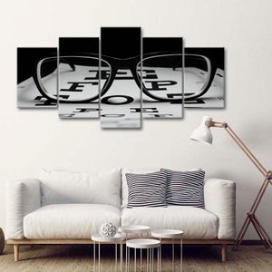 Eyesight Multi Panel Canvas Wall Art - Professions