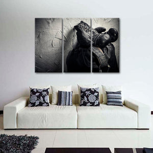 Fight For Honor Multi Panel Canvas Wall Art - Boxing