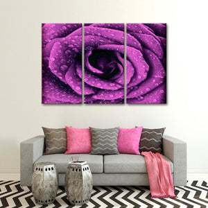 Floral Beauty Multi Panel Canvas Wall Art - Flower
