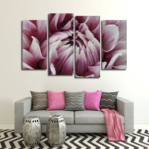 Floral Fantasy Multi Panel Canvas Wall Art - Flower