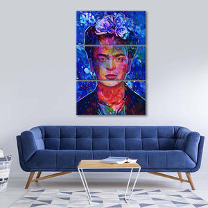 Frida Multi Panel Canvas Wall Art - Public_figures