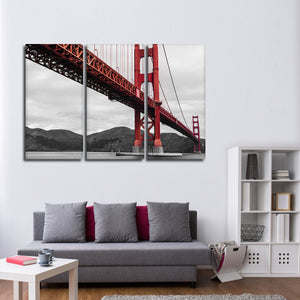 Frisco Bay Pop Multi Panel Canvas Wall Art - Bridge