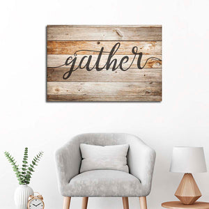 Gather Multi Panel Canvas Wall Art - Inspiration