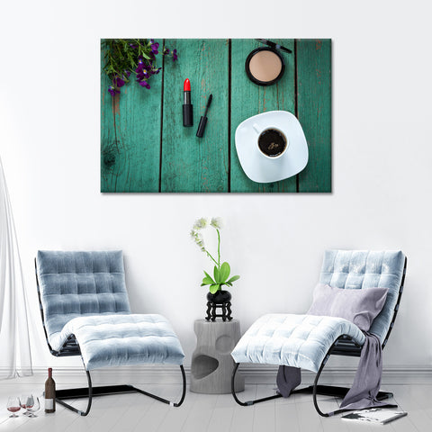 Glamorous Morning Multi Panel Canvas Wall Art