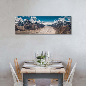Gokyo Nepal Multi Panel Canvas Wall Art - Nature