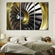 Gold Engine Multi Panel Canvas Wall Art