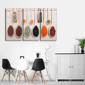 Grain Galore Multi Panel Canvas Wall Art - Kitchen