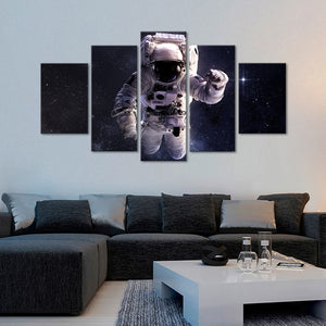 Gravity Multi Panel Canvas Wall Art - Astronomy