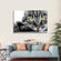 Green Eye Cat Multi Panel Canvas Wall Art
