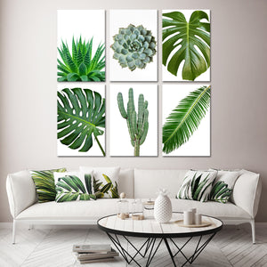Greenery Canvas Set Wall Art - Botanical