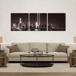 Ground Zero NYC Multi Panel Canvas Wall Art - City