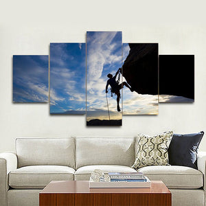 Keep Climbing Multi Panel Canvas Wall Art - Climb