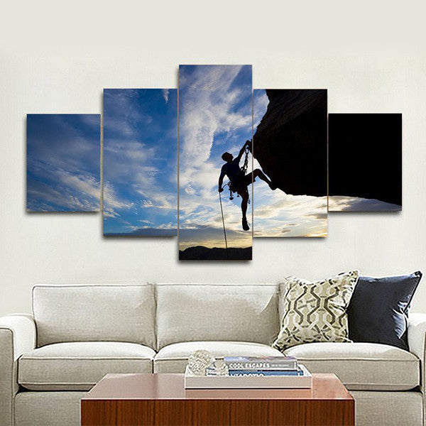 Keep Climbing Multi Panel Canvas Wall Art
