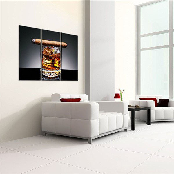 Mad Men Afternoon Multi panel Canvas Wall Art & Mad Men Afternoon Multi panel Canvas Wall Art | ElephantStock