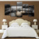 Pebbles Multi Panel Canvas Wall Art