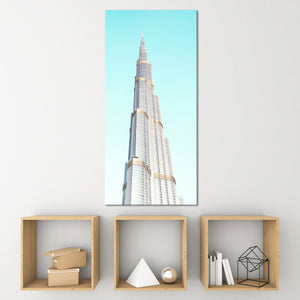 Dubai Skyscraper Multi Panel Canvas Wall Art - Architecture