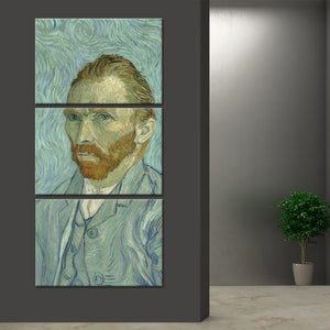 Self Portrait Multi Panel Canvas Wall Art - Classic_art