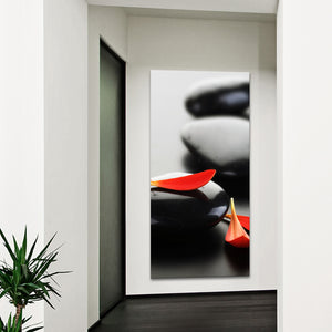 Time To Relax Multi Panel Canvas Wall Art - Spa