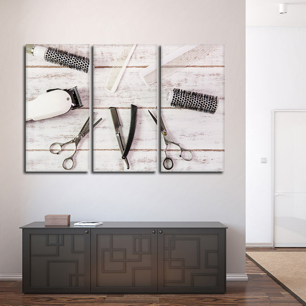 Hair Appointment Multi Panel Canvas Wall Art