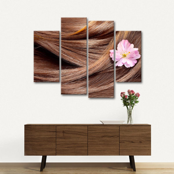 Hair Temptation Multi Panel Canvas Wall Art