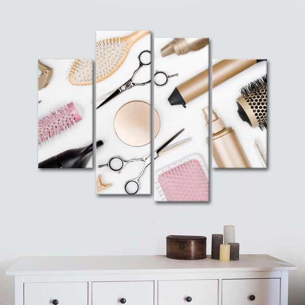 Hairstylist  Life Multi Panel Canvas Wall Art