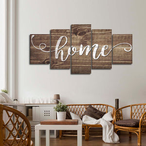 Home Multi Panel Canvas Wall Art - Inspiration