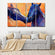 Horses In Love Multi Panel Canvas Wall Art