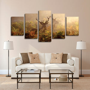 Hunting Ground Multi Panel Canvas Wall Art - Hunting