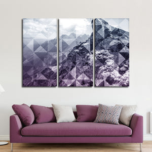 Illusion Or Reality Multi Panel Canvas Wall Art - Nature