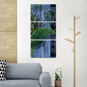 Indoor Plants Multi Panel Canvas Wall Art - Botanical