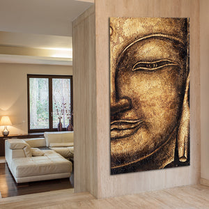 Infinite Bliss Multi Panel Canvas Wall Art - Buddhism