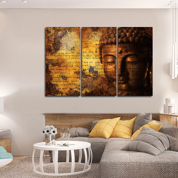 Harmonious Buddha Canvas Wall Art Elephantstock